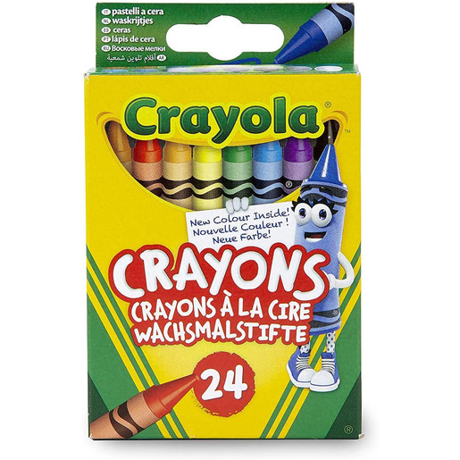 Crayola - 24 Assorted Crayons