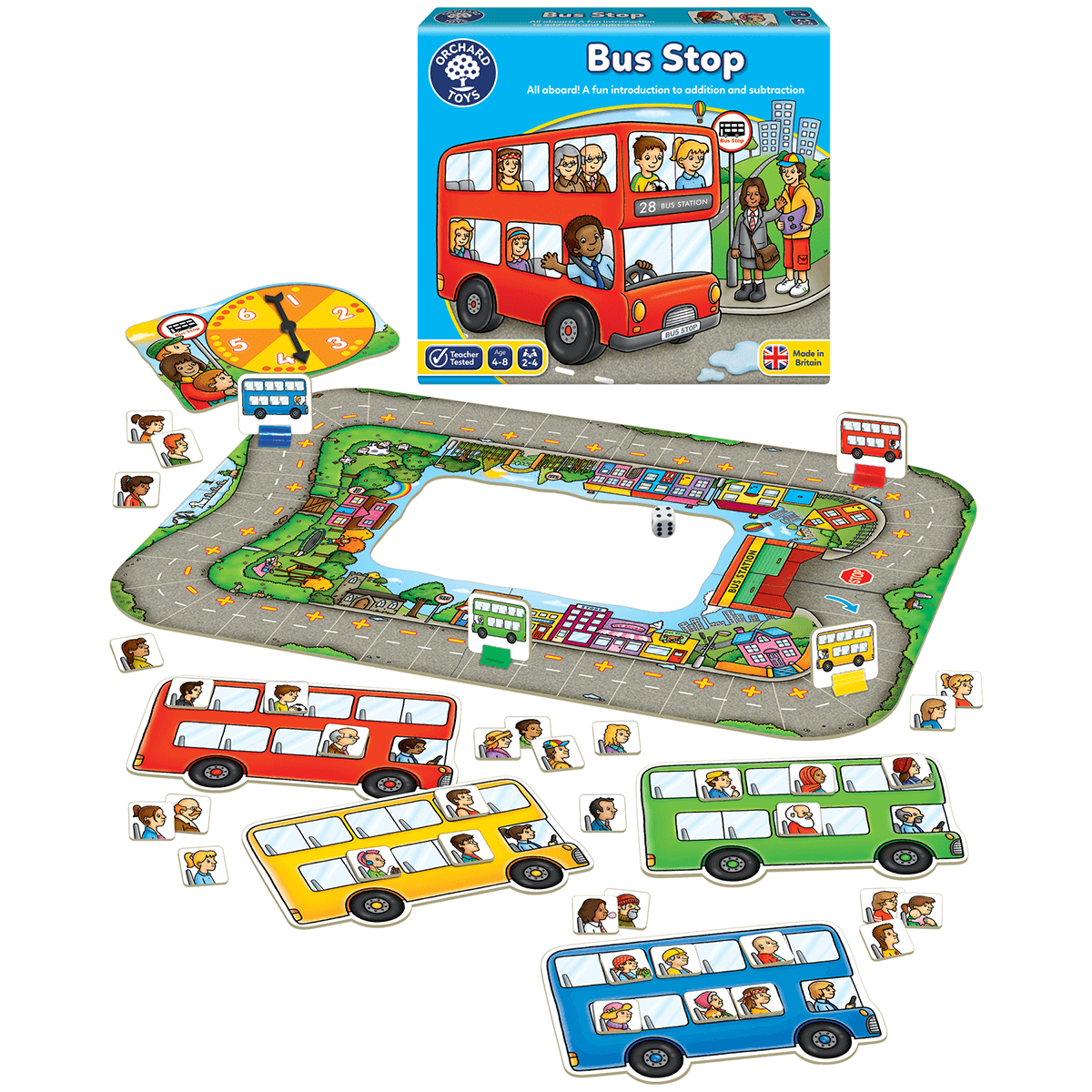 Orchard Kids Educational Toys Play and Learn Childrens Games New