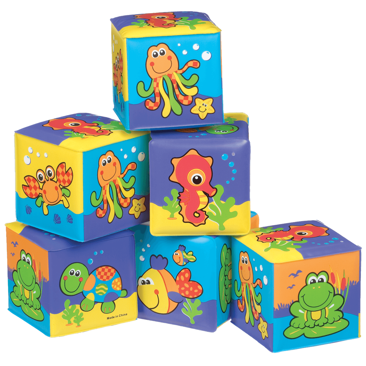 Playgro Soft Cubes from Early Learning Center