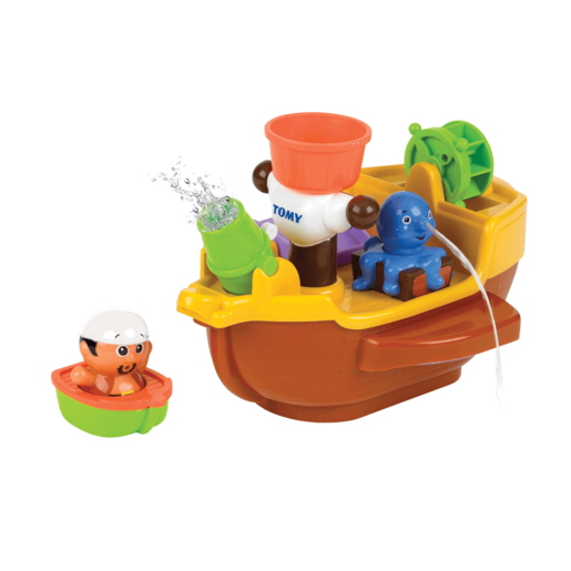 Tomy Toomies Pirate Ship Bath Toy