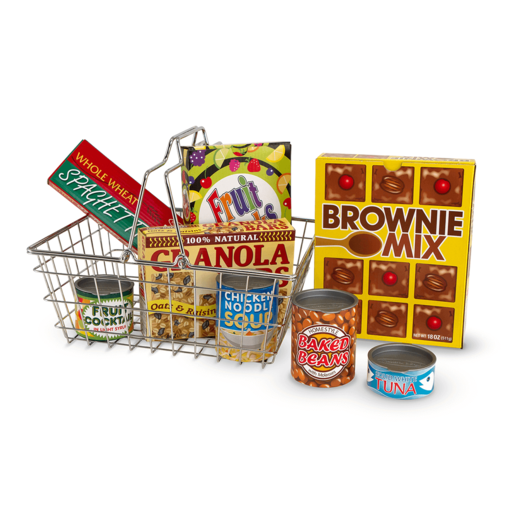 Melissa & Doug Shopping Basket