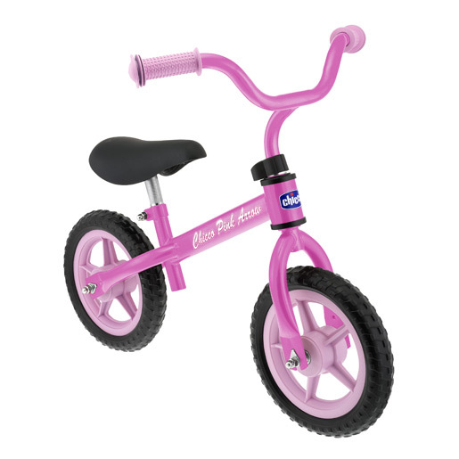 Chicco Pink Arrow My First Balance Bicycle