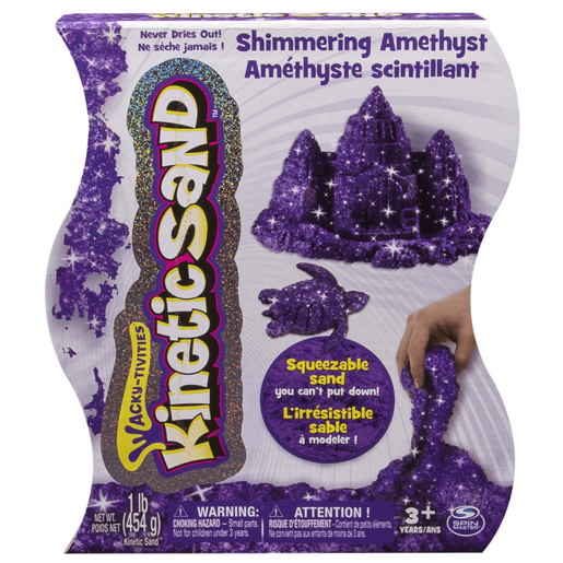 Kinetic Sand Gem Sand - Amethyst Colour 454g