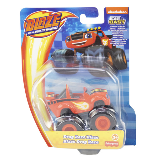 Blaze And The Monster Machines Car - Drag Race Blaze