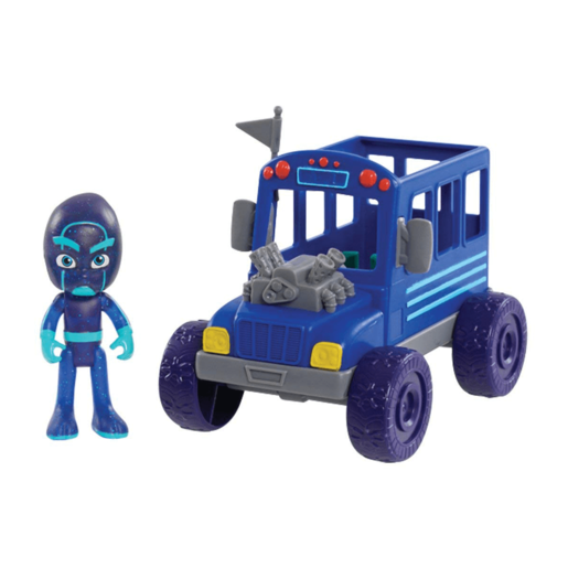 PJ Masks Vehicle and Figure - Night Ninja Bus