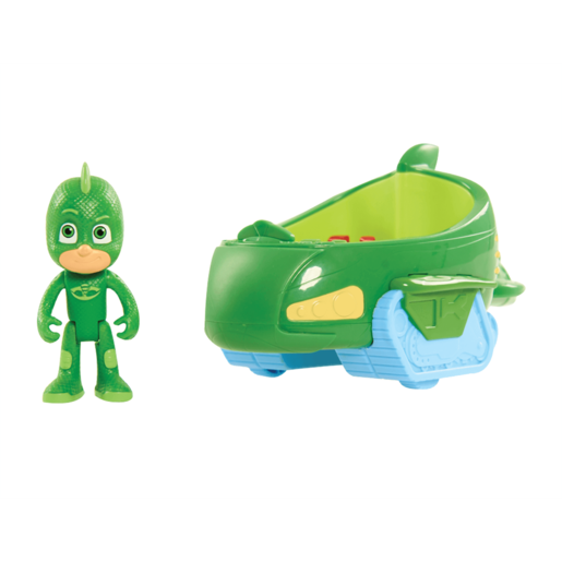 PJ Masks Gekko-Mobile Vehicle with Gekko Figure