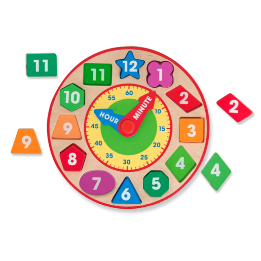 Melissa and Doug Shape and Sorting Clock