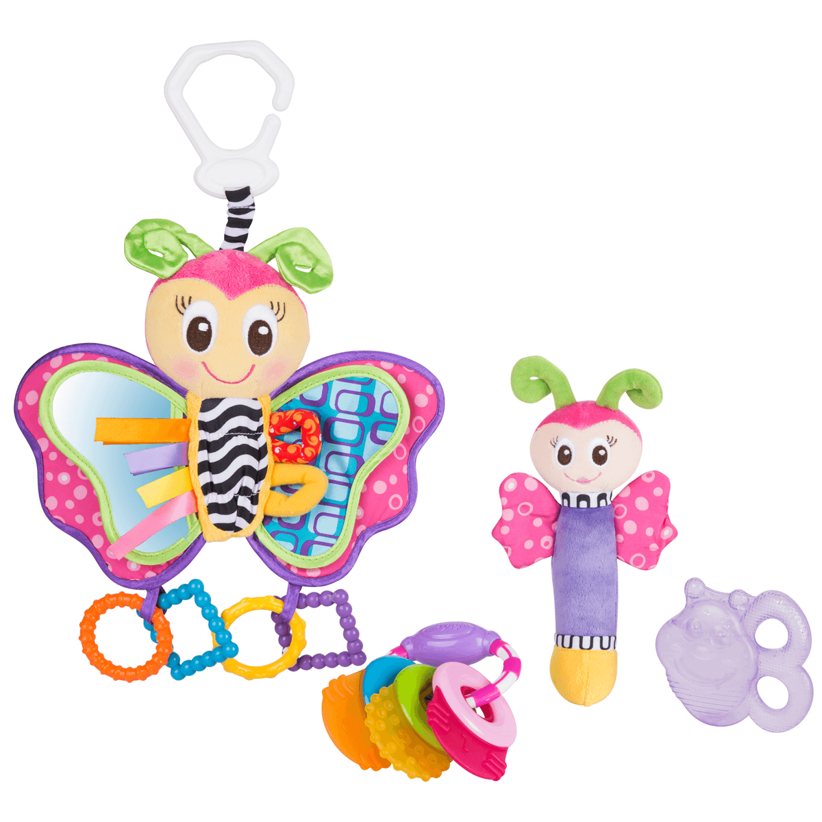 Playgro Butterfly Teether Pack from Early Learning Center