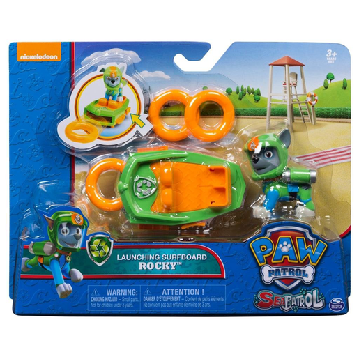 Paw Patrol Sea Patrol Launching Surfboard - Rocky