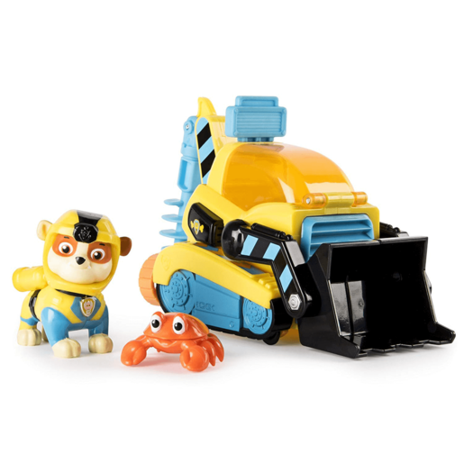 Paw Patrol Sea Patrol - Rubble's Transforming Vehicle and Crab Sea Friend