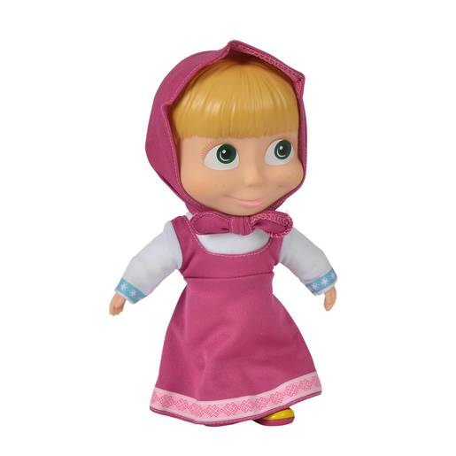 Masha and the Bear 23cm Doll - Pink