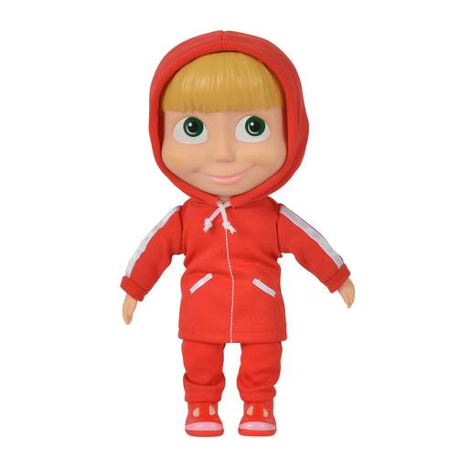 Masha and the Bear 23cm Doll - Red