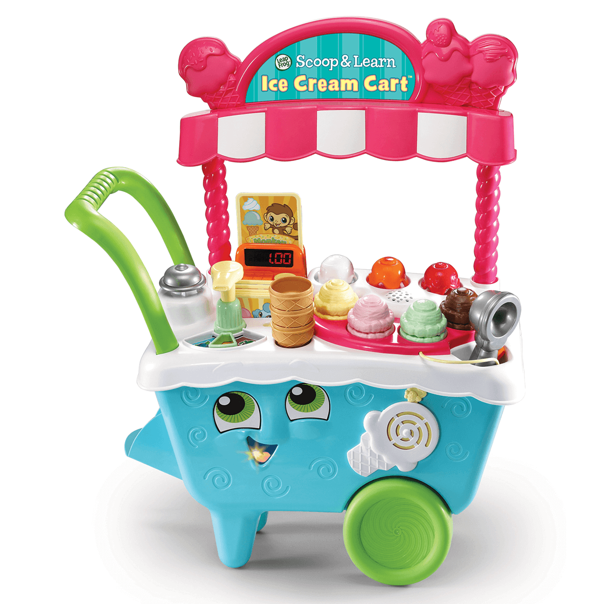 LeapFrog Scoop & Learn Ice Cream Cart from Early Learning Center