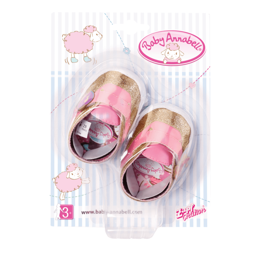 Baby Annabell Shoes (Styles Vary)