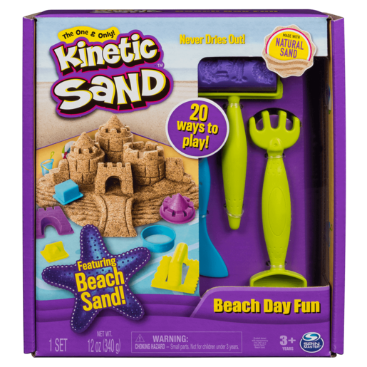 Kinetic Sand - Beach Day Fun Set
