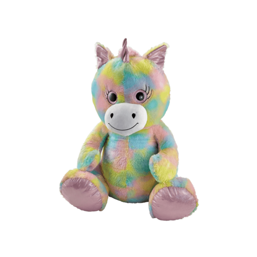 Snuggle Buddies 80cm Plush Unicorn - Sugar Sparkle
