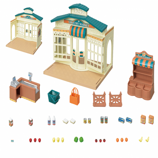 Sylvanian Families Grocery Market