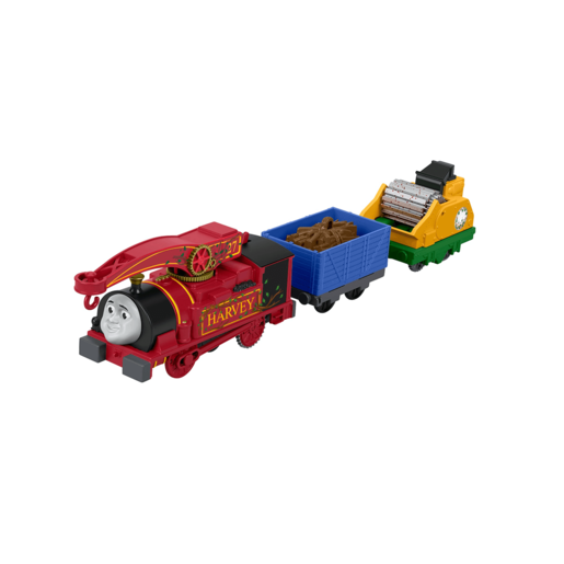Fisher-Price Thomas & Friends - TrackMaster Helpful Harvey Train Engine
