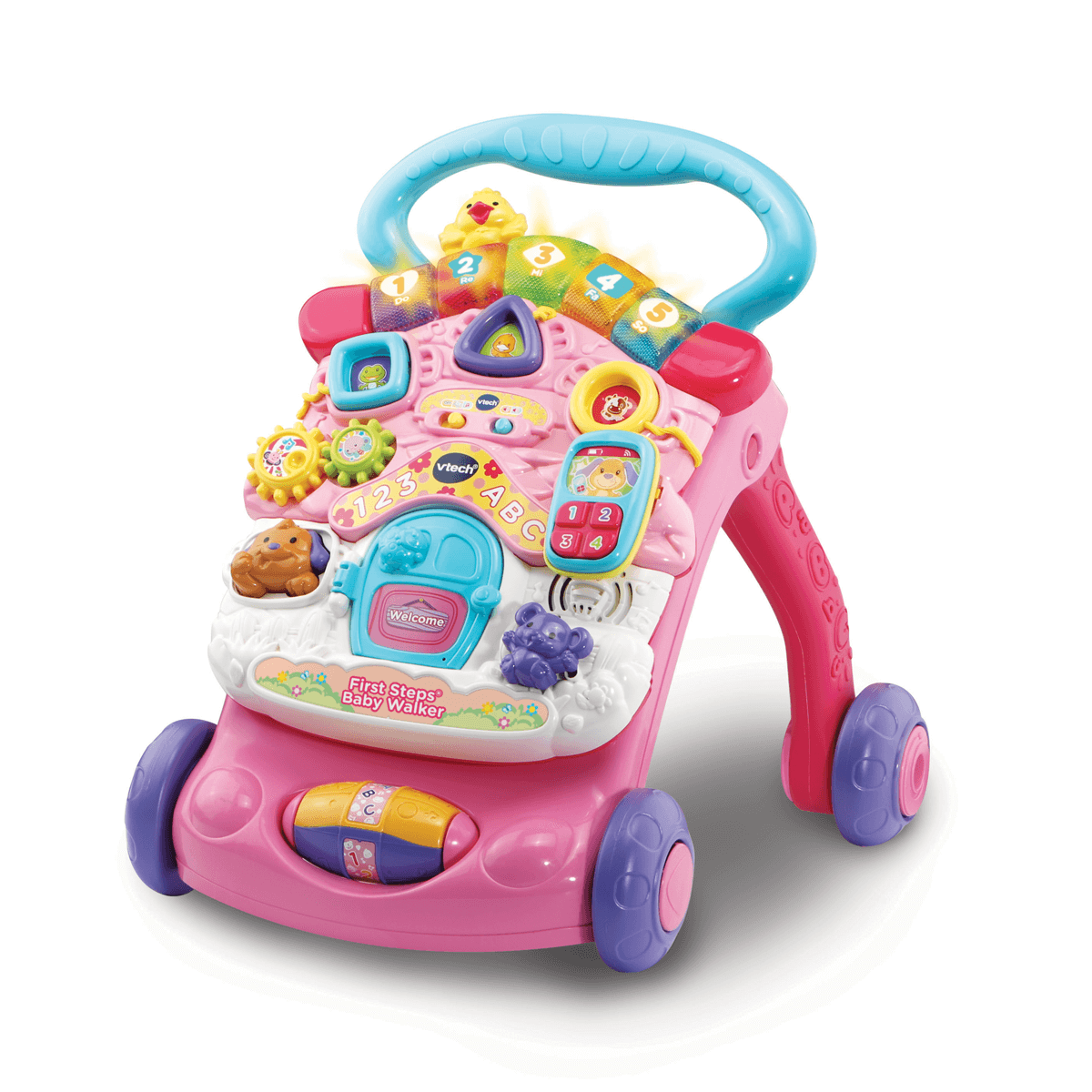 VTech Baby First Steps Baby Walker - Pink from Early Learning Center