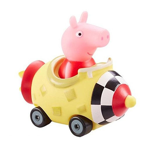 Peppa Pig Mini Buggies - Peppa In Rocket Vehicle