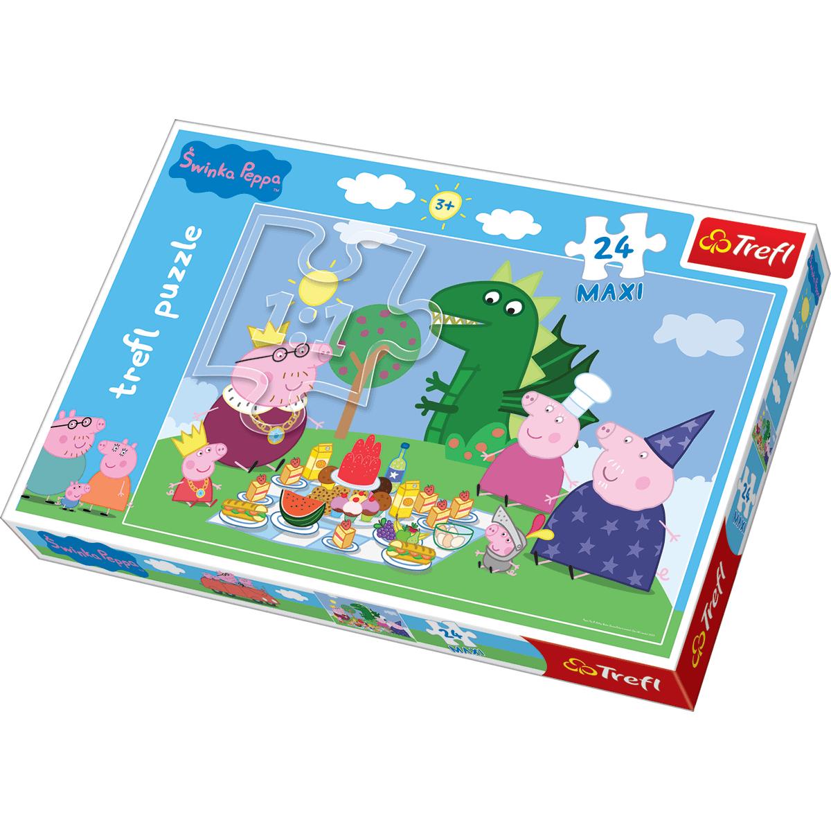Trefl - Peppa Pig Maxi 24pc Puzzle