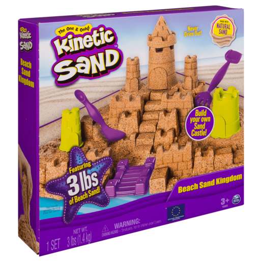 Kinetic Sand Mega Beach Sand Kingdom