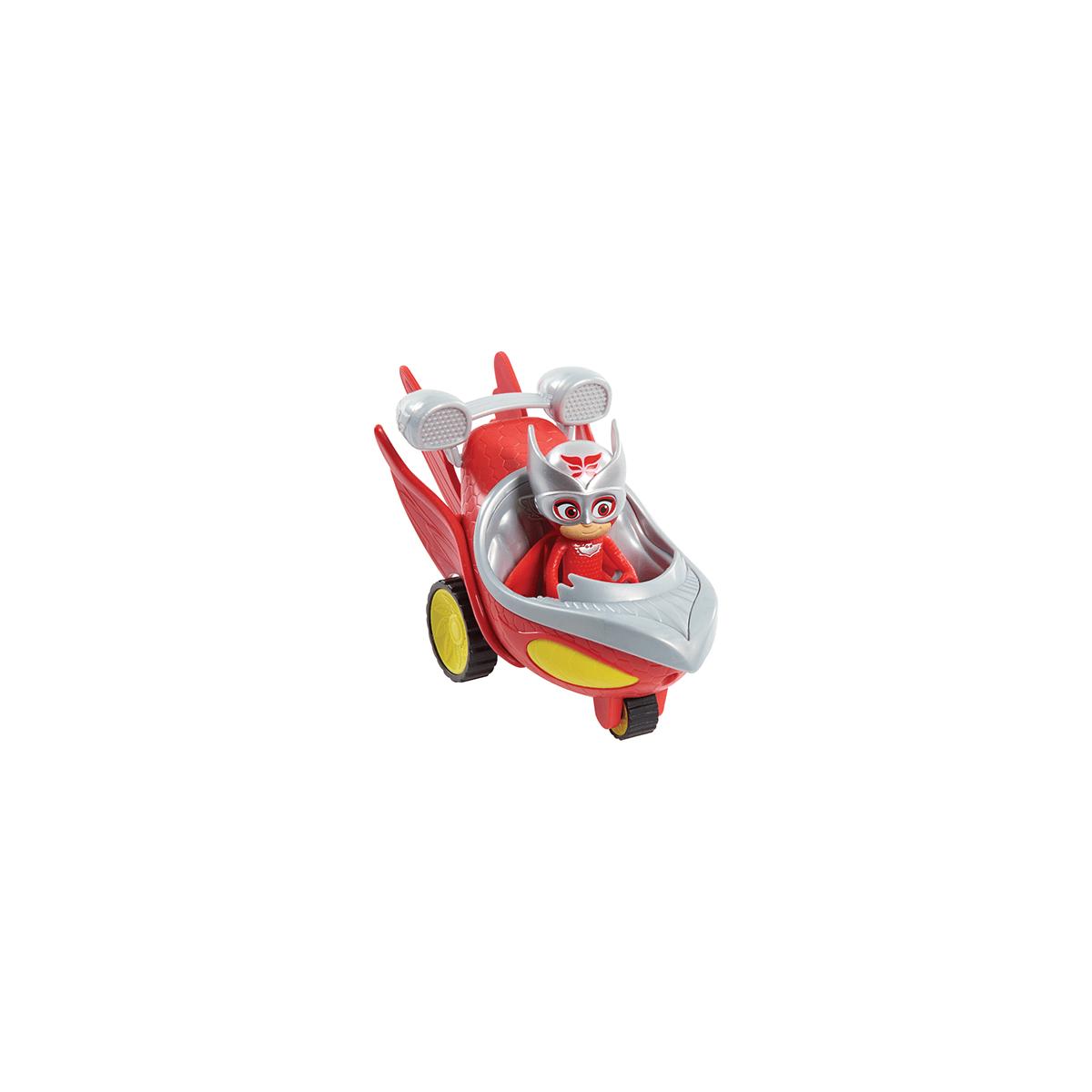 PJ Masks Speed Booster Vehicle & Figure - Owlette