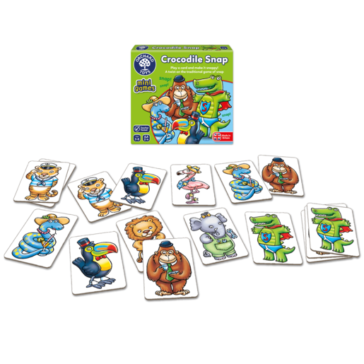 Orchard Toys Mini Game - Crocodile Snap