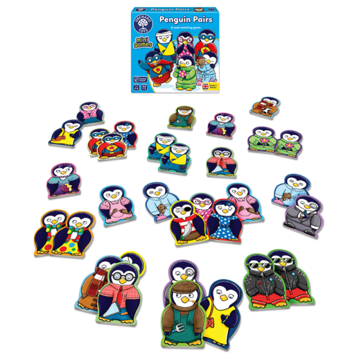 Orchard Toys Mini Game - Penguin Pairs