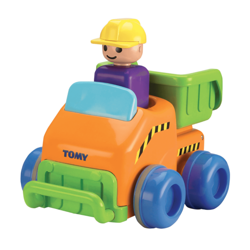 Tomy Toomies Push And Go Vehicle - Dump Track