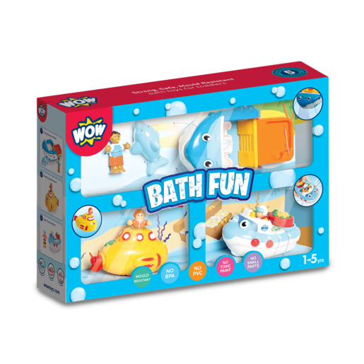 WOW Toys Bath Fun Playset