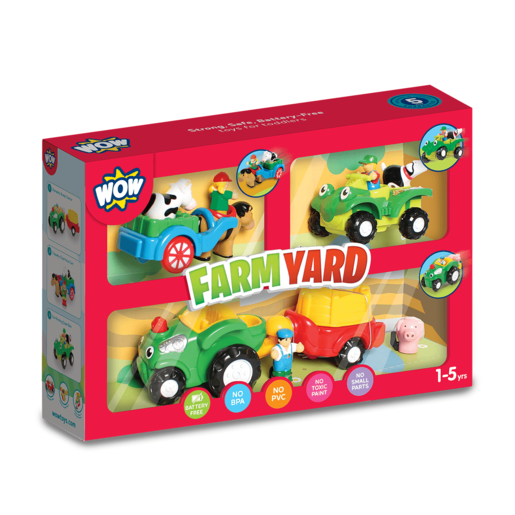WOW Toys Farm Yard Playset