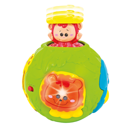 WinFun Roll and Pop Jungle Activity Ball