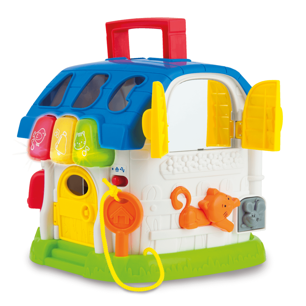 WinFun Sort and Learn Activity House from Early Learning Center