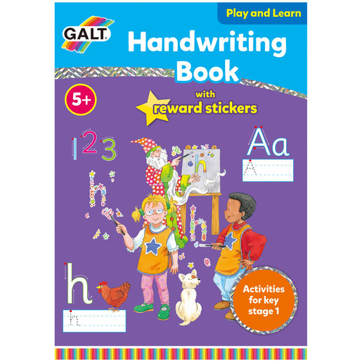 Galt Handwriting Book with Stickers
