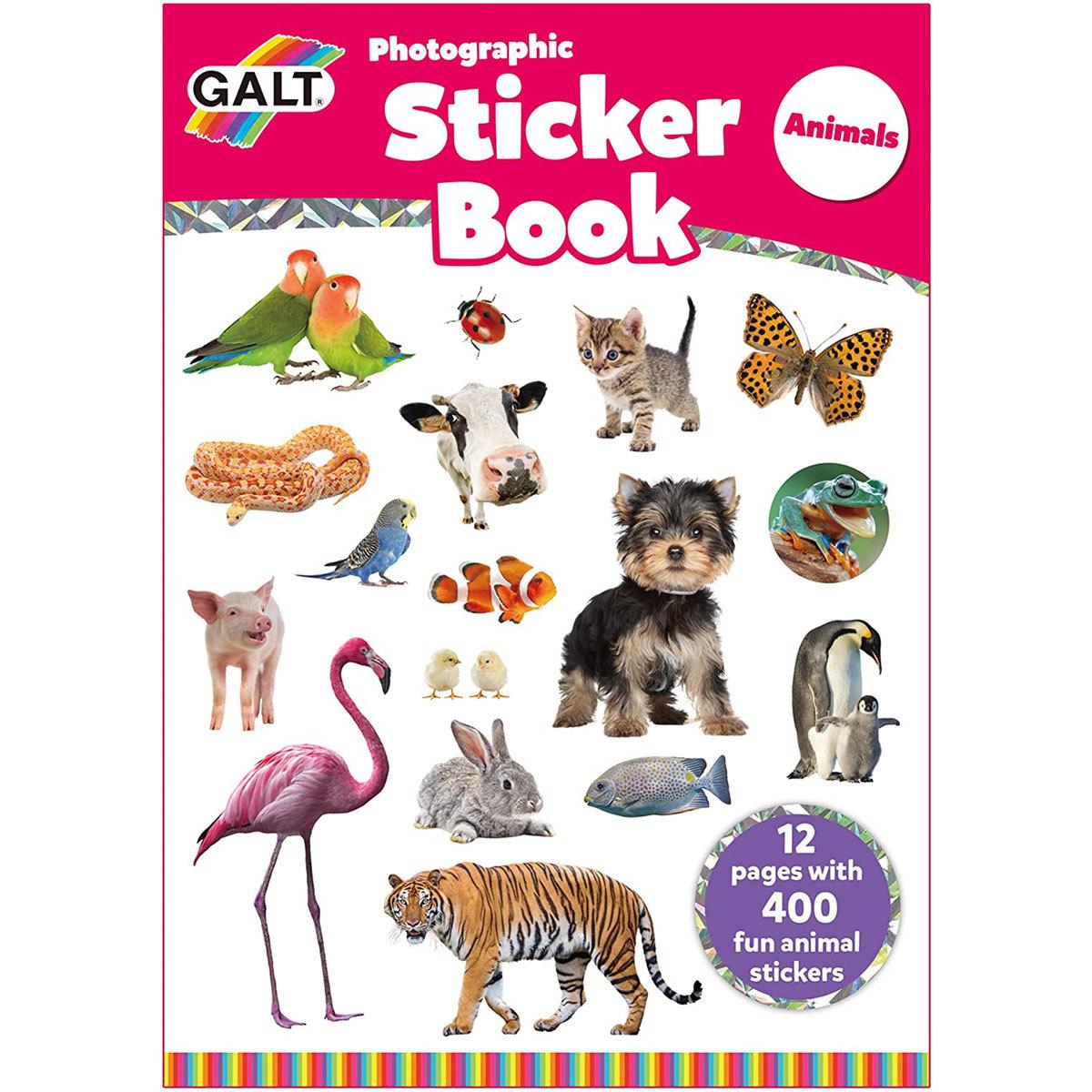 Galt Animals Sticker Book