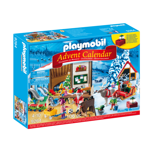 Playmobil Advent Calendar Santa Workshop - 9264