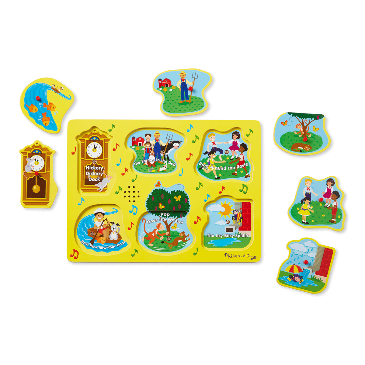 Melissa and Doug Sing-Along Nursery Rhymes 1 - Sound Puzzle from Early Learning Center