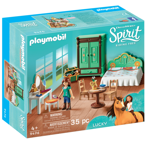 Playmobil DreamWorks Spirit Lucky's Bedroom - 9476