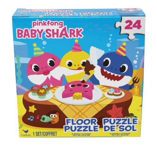 Baby Shark Floor Puzzle - 24 Pieces