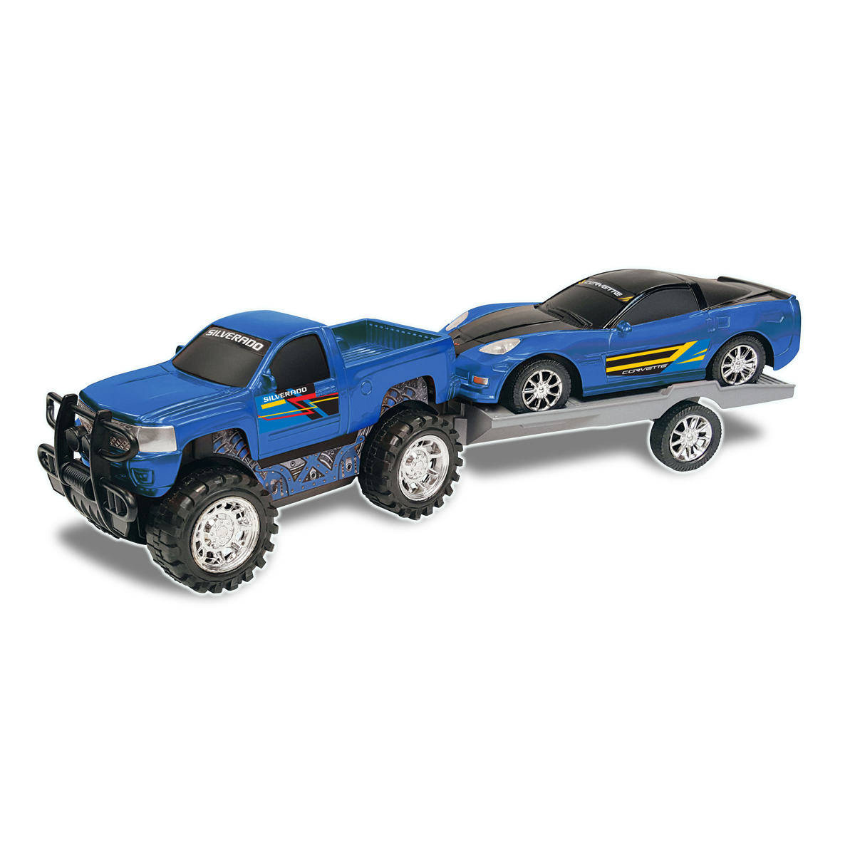 Truck and Trailer - Blue