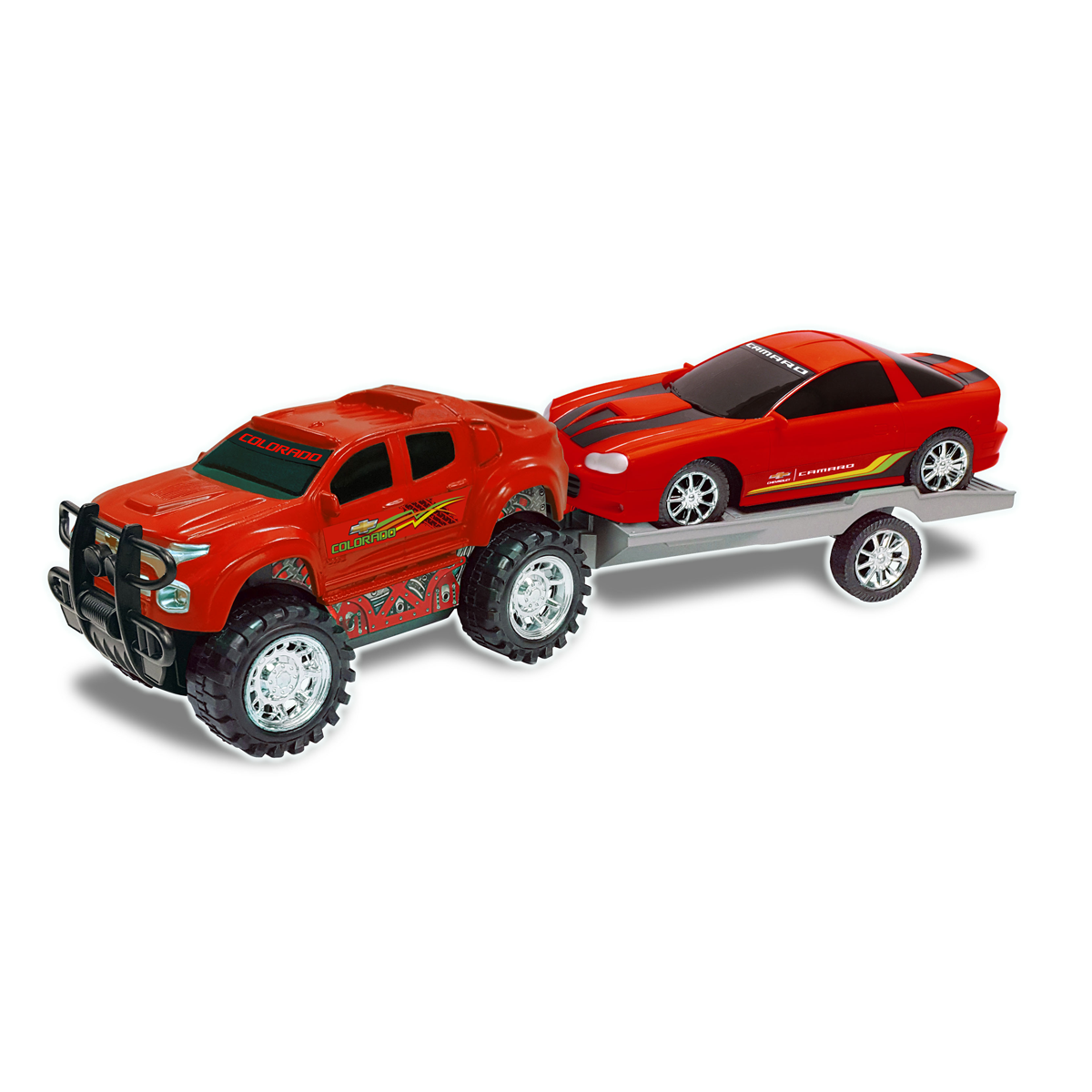Truck and Trailer - Red from Early Learning Center