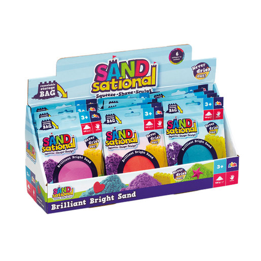 Sandsational Brilliant Bright Sand (Styles Vary. One Supplied)