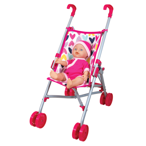 Lissi Stroller Set with 30cm Baby Doll
