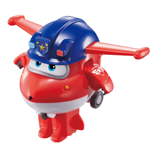 Super Wings Transforming Vehicle - Police Jett