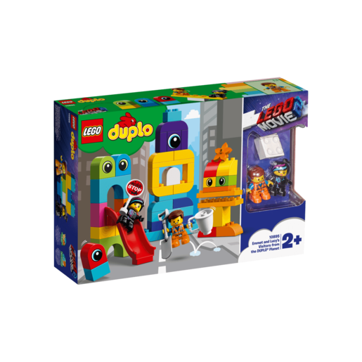 The LEGO Movie 2 LEGO Duplo Emmet and Lucy's Visitors- 10895