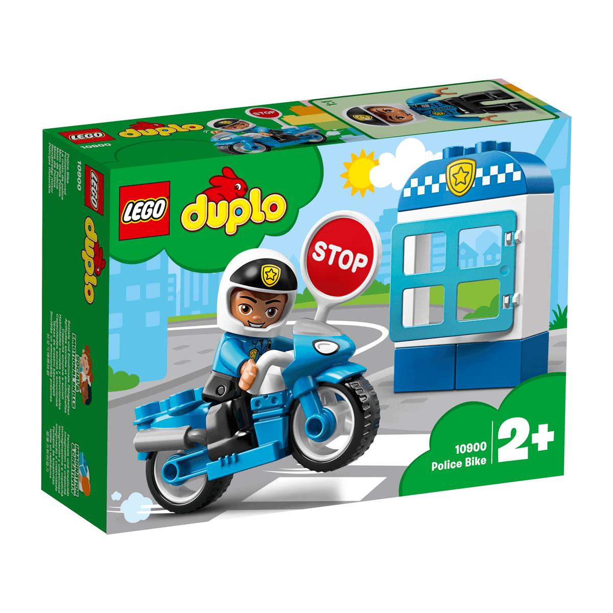 custom built lego UK Police Bike INSTRUCTIONS ONLY