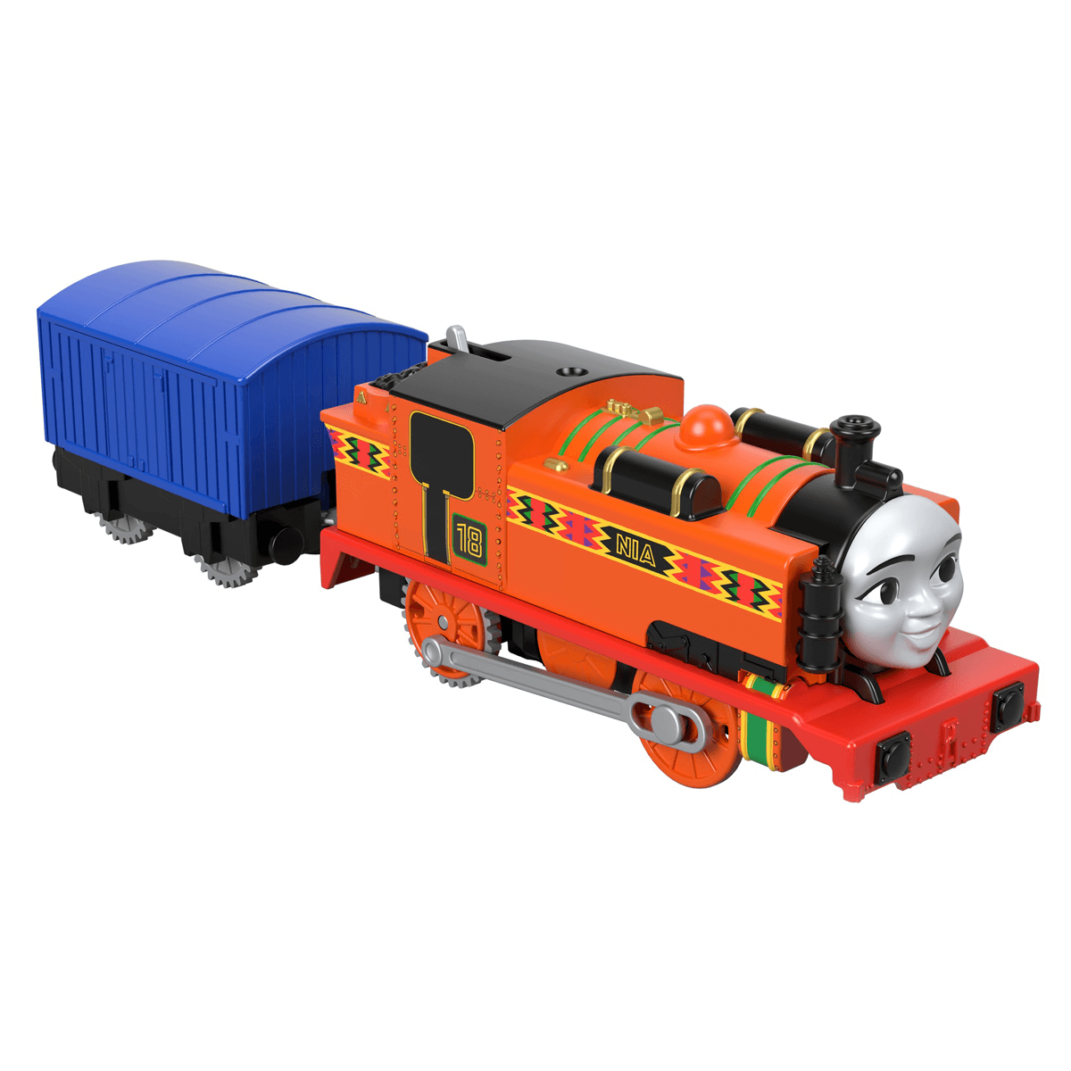 Fisher-Price Thomas & Friends TrackMaster Train Engine - Nia and Carriage