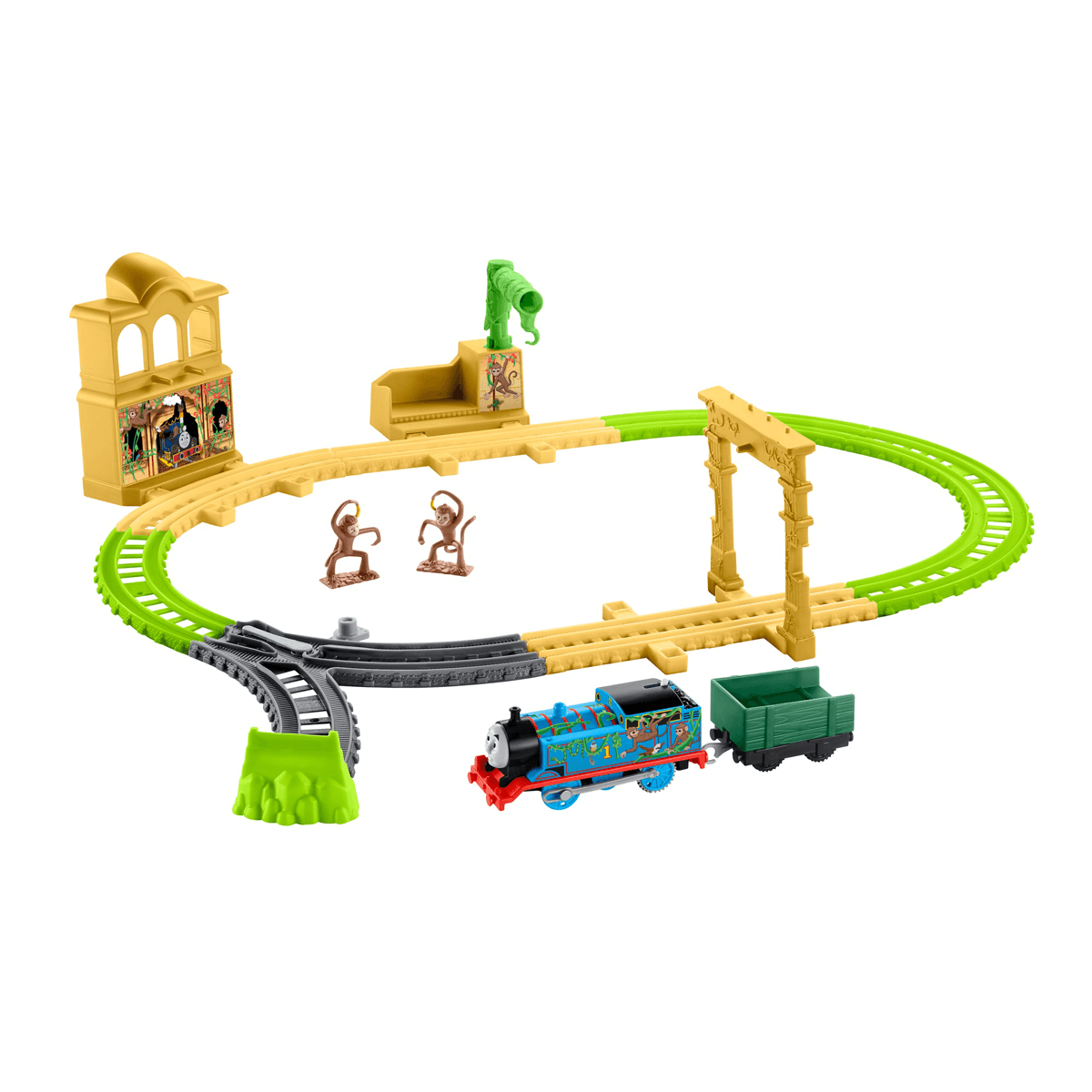Fisher-Price Thomas & Friends TrackMaster - Monkey Palace Playset from Early Learning Center
