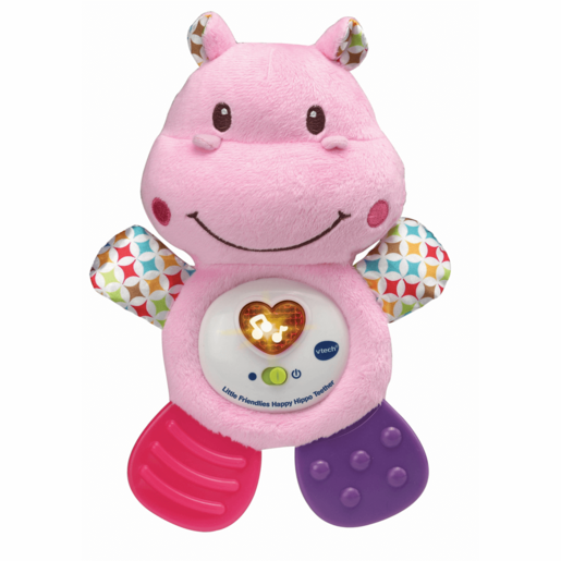 VTech Little Friendlies Happy Hippo Teether - Pink